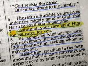 highlighted-bible